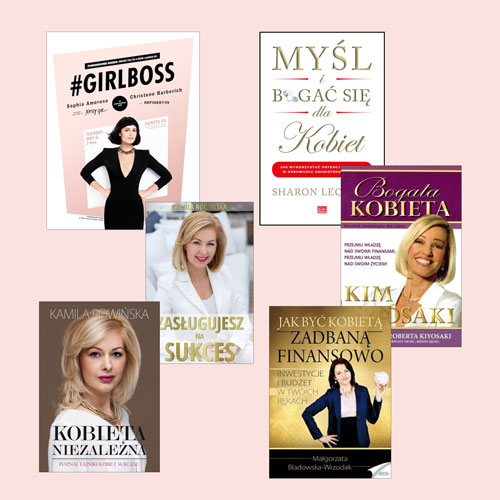 Najlepsze książki o samorozwoju dla kobiet | RANKING