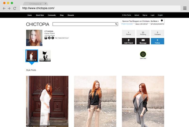 www-chictopia-chrome-promowanie-google-zdjecia-blogerki-zarobić-stylizacje