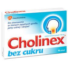 Cholinex bez cukru – tabletki na gardło