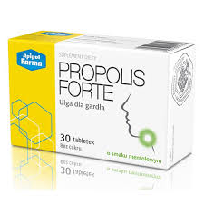Propolis Forte – tabletki do ssania na gardło koncernu Apipol Farma