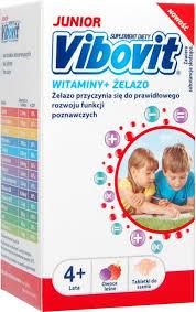Vibovit Junior – tabletki do ssania