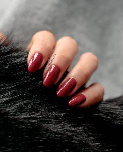 500-red-faux-fur-futro-kabos-otianna-paznokcie-produkty-nails-blog