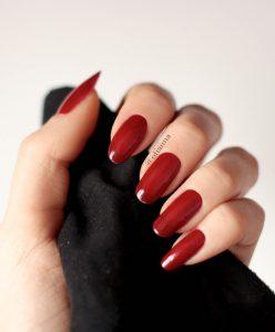 700-7n-red-faux-fur-futro-kabos-otianna-paznokcie-produkty-nails-blog