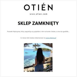 b8976ed97f Dlaczego zamknęłam swój sklep OTIEN.com   OTIEN.pl   Zamknięty biznes.  Bezdomność. Podróż dookoła świata.