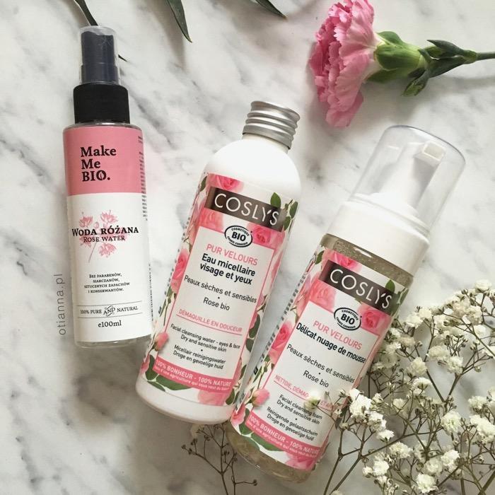 Różana pielęgnacja cery / kosmetyki naturalne, wegańskie