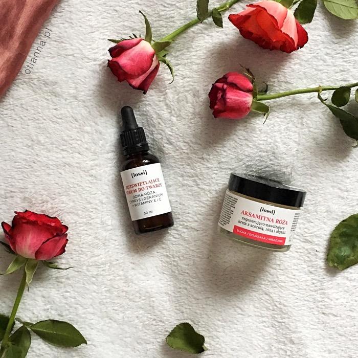 iossi opinie, kosmetyki naturalne, różana pielęgnacja,serum
