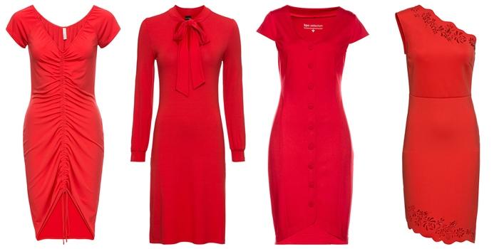 ab61036549 Ceny od 59-130zł. Kolejne czerwone sukieneczki są z ANSWEAR.com. A w  sklepie mnóstwo innych czerwonych cudownych kiecek! Ceny 50-300zł
