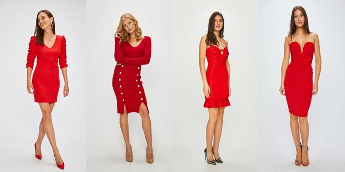 214aedfa9f Kolejne czerwone sukieneczki są z ANSWEAR.com. A w sklepie mnóstwo innych  czerwonych cudownych kiecek! Ceny 50-300zł